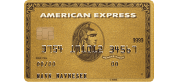 Les 2 omtaler om American Express Gold Card