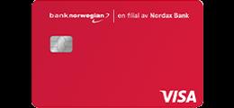 Les 61 omtaler om Bank Norwegian kredittkort