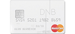 Les 1 omtale om DNB Student MasterCard