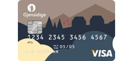 Les 1 omtale om Gjensidige Visa kredittkort