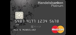 Les 1 omtale om Handelsbanken Platinum kredittkort