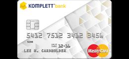 Les 11 omtaler om Komplett Bank MasterCard