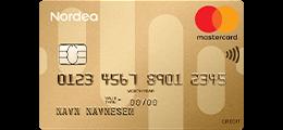 Les 2 omtaler om Nordea Gold MasterCard