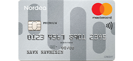 Les 2 omtaler om Nordea Premium MasterCard