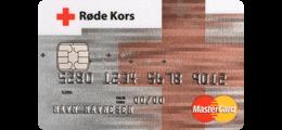Les 1 omtale om Røde Kors MasterCard