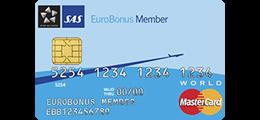 Les 3 omtaler om SAS EuroBonus World MasterCard