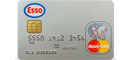 Les 1 omtale om Esso MasterCard